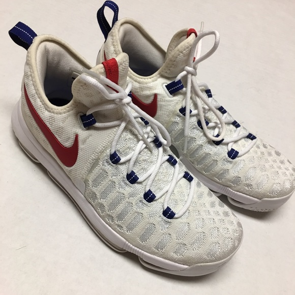 0bf524c29fe Nike kd 9 usa independence day shoes sneakers 9.5.  M 5b2875be9539f79b40b0354e